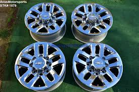 100 Oem Chevy Truck Wheels 18 Silverado GMC Sierra 2500 3500 OEM WHEELS Chrome 2017 2018 LTZ
