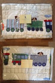 Pillowcases 115628: New Pottery Barn Kids Train Junction Crib ... Up Close Abigail Quilt Pottery Barn Kids For The Home Restoration Hdware Silk Quilt Pottery Barn Shams Pillows Ebth Fnitures Ideas Magnificent Bedroom Fniture Duvet Covers King Canada Quilts 66730 Nwt S3 Kids Kitty Cat Full Queen Bedding Tags Wonderful Best 25 Quilts Ideas On Pinterest Twinfull For Sale Amy Butler Ralph Brigette Ruffle Quilted Girls Bedrooms Knock Off Diy Flag Wall Art Hymns And Verses Camden Embroidered Star New Brooklyn Fullqueen