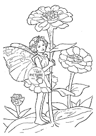 Fairy Children Coloring Pages