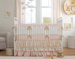 Pink Crib Bedding by Pink Crib Bedding Etsy