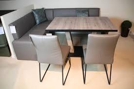 essgruppe escape eckbank tisch stühle in leder k w