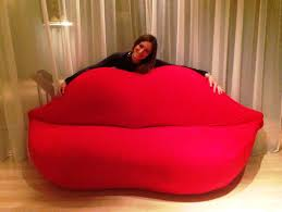 Salvador Dali Mae Wests Lips Sofa by Bocca Sofa Lip Sofa Custom Furniture Factory