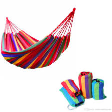 Indoor Hammock Bed by Outdoor Swing Garden Indoor Sleeping Hammock Bed Rainbow Color
