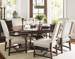 Seven Piece Dining Room Set by Kilimanjaro Seven Piece Maracaibo Dining Table And Cape Verde