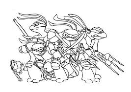 Free Coloring Pages Of Ninja Turtle And Pizza