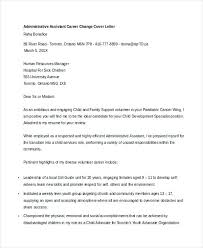 Career Change Cover Letter Healthcare Speculative Sample Example