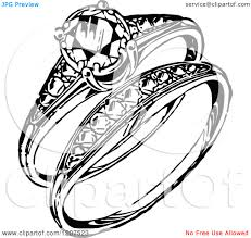Wedding Ring Clipart Black And White Wedding Decorate Ideas