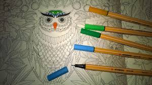 This Owl Pattern Is From The Secret Garden An Inky Treasure Hunt And Colouring Book By Johanna Basford