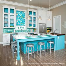 Kitchen Color Trends 2015 With Green Modern Chairs And Wooden Flooring Near Living Room Full TV Sofa Regarding How To