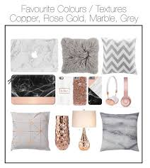 Room Decor Copper Rose Gold Marble Gray Learn Even More By