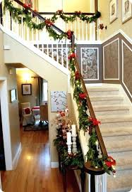 Banister Christmas Decorations Best Stairs Decoration For Ideas A ... Home Depot Bannister How To Hang Garland On Your Banister Summer Christmas Deck The Halls With Beautiful West Cobb Magazine 12 Creative Decorating Ideas Banisters Bank Account Season Decorate For Stunning The Staircase 45 Of Creating Custom Youtube For Cbid Home Decor And Design Christmas Garlands Diy Village Singular Photos Baby Nursery Inspiring Stockings Were Hung Part Adams