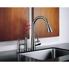 Brizo Kitchen Faucet Leaking by Faucet Com 63070lf Blst In Black By Brizo