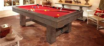 Rustic Pool Table Plans Lights For Sale Tables