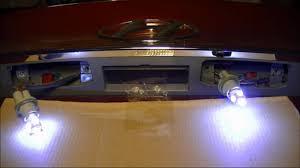 hyundai sonata rear license plate lights bulbs ls to led