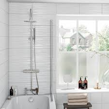 allen and roth wavecrest wall tile wave tiles bathroom porcelanosa