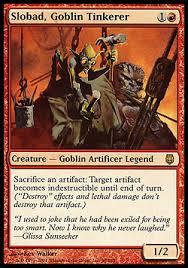 budget commander slobad goblin tinkerer puremtgo
