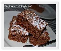 moelleux chocolat caramel cuisiner tout simplement le