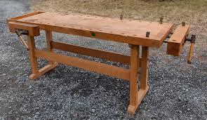 near new 7 foot beech ulmia woodworking bench u2013 jim bode tools