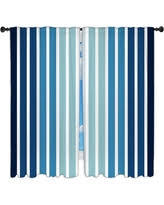 Blue Vertical Striped Curtains by Exclusive Deals On Blue Striped Curtains