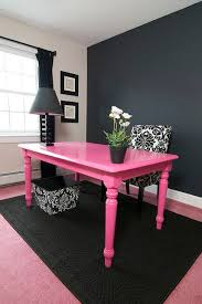 Paint A Cheap Table Bright Color And It Can Be Awesome