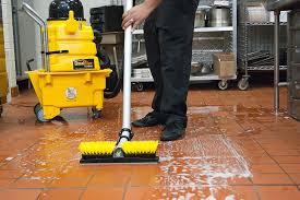 proper restaurant floor cleaning for different types of floors