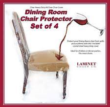 Vinyl Clear Chair Slipcovers For Sale