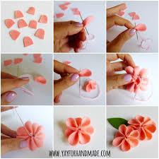 Paper Flower Design Step By Handmade Flowers Tutorial Choice Image Decoration Ideas