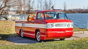 100 Chevy Corvair Truck Amphibious Is A Wet Dream The Drive