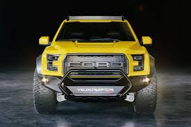 Video: The Hennessey VelociRaptor Is More Powerful AND Features More ... 2017 Velociraptor 600 Twin Turbo Ford Raptor Truck Youtube First Retail 2018 Hennessey Performance John Gives Us The Ldown On 6x6 Mental Invades Sema Offroadcom Blog Unveils 66 Talks About The Unveils 350k Heading To 600hp F150 Will Eat Your Puny 2014 For Sale Classiccarscom Watch Two 6x6s Completely Own Road Drive