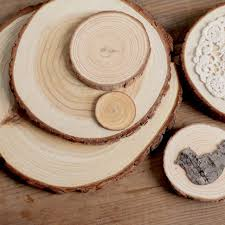 Sale 1pcs Thickness 1cm WOOD LOG Wood Gift Tags Wedding Decoration Mariage Vintage Rustic Decor