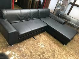 sitzecke l form sofa mit schlaffunktion 282x193cm