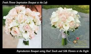 Real Touch Wedding Bouquets Real Touch Roses Real Touch Calla