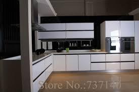 achat chinois cuisine haute brillant blanc laque armoires de cuisine blanc bois cabinet