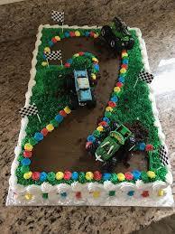 100 Truck Birthday Cakes Monster Monster Cake 2nd Grace