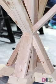 diy round farmhouse table legs rounding and farmhouse table
