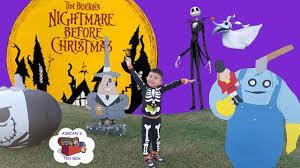 Nightmare Before Christmas Zero Halloween Decorations by Nightmare Before Christmas Halloween Yard Decor Jack Skellington