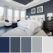 This Bedroom Design Has The Right Idea Rich Blue Color Palette And Decor Create