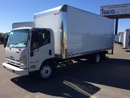 2015 Isuzu NPR EFI 20 Ft. Dry Van Body Truck - Bentley Truck Services