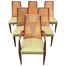 Tall Dining Chairs Mid Century Modern Cane Back By House For Sale ... Set Of Four Ethan Allen Cane Back Ding Chairs Ebth Chair Fniture Outlet Atlanta Fair Eastgate Row Spokane Room French Provincial Cane Back Ding Chairs Thomasville Room Ideas Eight Mid Century Modern S8 Milo Baughman New Fabric Chrome Pair Vintage French Country Arm 2 Ideas On For Sale Au Uk Pwick Antiques English And Montgomery Alabama Fishmag
