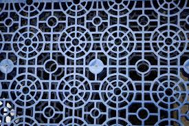 Blue Plastic Crate Texture