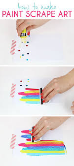 This DIY art project idea is really easy so much fun and makes
