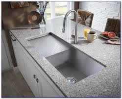Commercial Undermount Sink by Kitchen Sink With Drainboard For Make Easy To Wash Kitchen