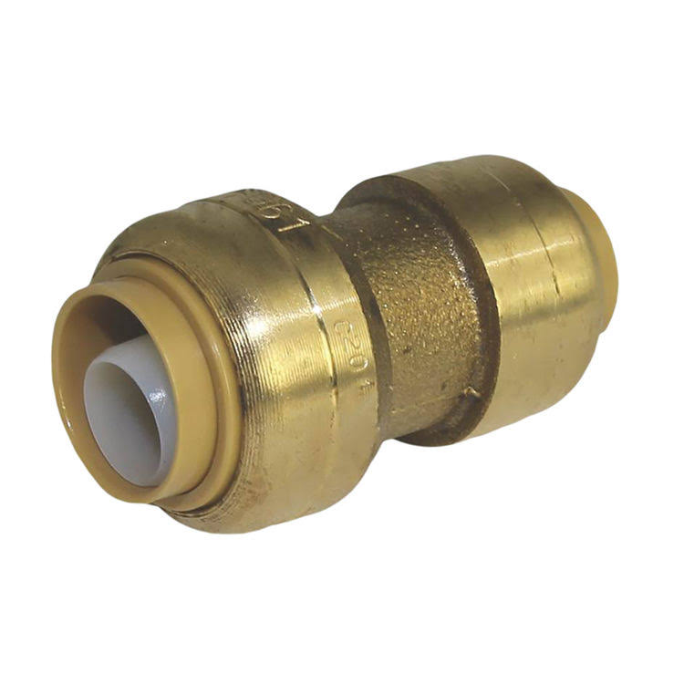"SharkBite Brass Push-to-Connect Reducer Coupling - 1/2"" x 3/8"""
