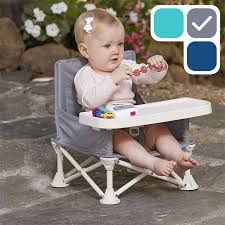 Hiccapop Omniboost Travel Booster Seat With Tray For Baby | Folding  Portable High Chair For Eating, Camping, Beach, Lawn, Grandma's | Tip-Free  Design ... How To Choose The Best High Chair Parents Chairs That Are Easy Clean And Are Not Ugly Infant High Chair Safe Smart Design Babybjrn 12 Best Highchairs The Ipdent Expert Advice On Feeding Your Children Littles Chairs From Ikea Joie 10 Baby Bouncers Buy You Some Me Time Growwithme 4in1 Convertible History And Future Of Olla Kids When Can Sit In A Tips