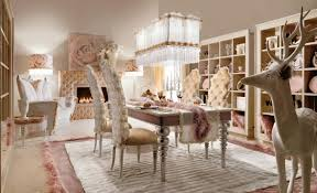 Wonderful Dining Room Design And Decoration With Rustic Chic Table Inspiring Image Of Glamour