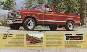100 Ford Truck 1980 4Wheeler Sales Brochure