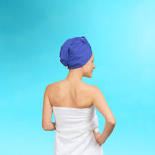 turbella 2 in 1 the only hair towel wrap shower cap turban in