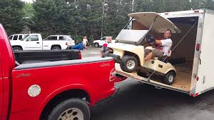 MCM's Way How Not To Load A Golf Cart - YouTube Golf Cart Sales Maintenance Valparaiso In R B Customs Truck California Roadster 53 Foot Lopro 3 Car Hauler 14 Carrier Scountry Trailers Cart Tow Truck Green Cactus Flickr Cross Resurrection Autos Carts Used Cars Trucks Vans Suv Sport Body Kit Classic Boat Wrap Motorcycle Golf Airplane Tomberlin Orange 2 Seat Buggy Full Custom Pack Really Fast Texas Wichita Falls Fstproof Services Tow Western Star Youtube