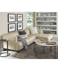 Macy Kitchen Table Sets by Alessia Leather Sectional Living Room Furniture Sets U0026 Pieces