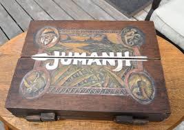 Jumanji 11 Scale Wooden Board Game Prop Replica By AtticReplicas